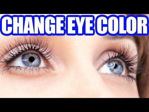 How to change my eye colour permanently