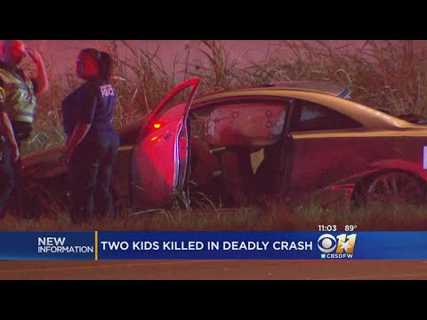 3 Dead, Including 2 Children, In Grand Prairie Crash