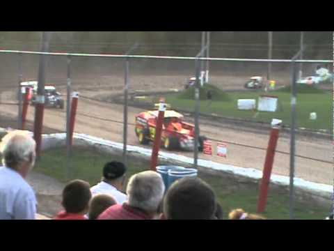 2011 UTICA ROME SPEEDWAY RYAN PHELPS JIMMY PHELPS FRIESEN HEAT RACE