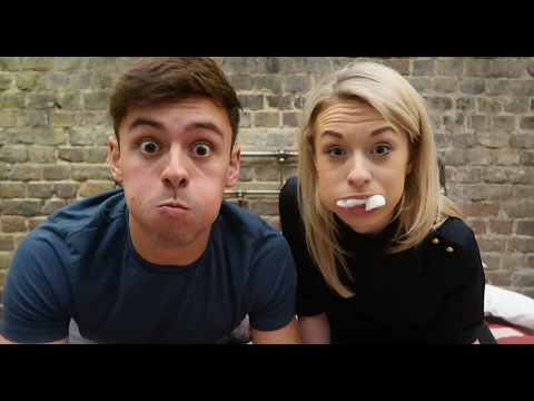 Chubby Bunny Challenge with Sophie!!