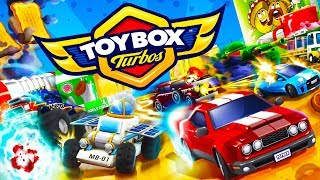 Toybox Turbos - HOT WHEELS AND MICRO MACHINES! - Toybox Turbos Gameplay - The New Crash Wheels Game!