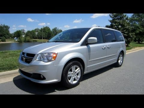 2011 Dodge Grand Caravan Crew Start Up, Engine, Test Drive and In Depth Review