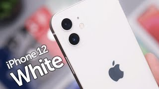 White iPhone 12 Unboxing & First Impressions!