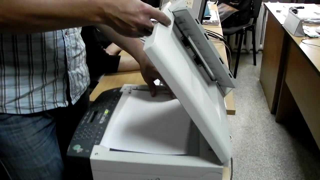 Инструкция по замене термопленки canon mf4150