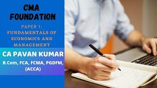 Lesson # 10 | CA CMA Foundation | CA Pavan Kumar