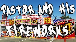 ISRAELITES - PASTOR GETS CUT AT HIS OWN FIREWORKS STAND!!
