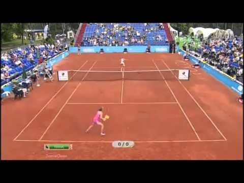 Martina Hingis vs Elena Dementieva 2012 Moscow Exo Highlights