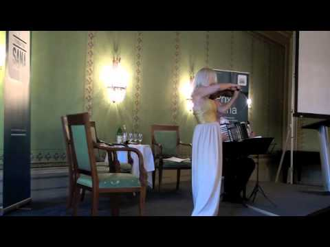 Oleg Lips ( Akkordeon ) & Michaela Paetsch ( Violin )  Carmen Fanasy. G.Biset-P. Sarasate