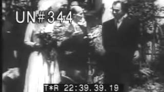 MARRIAGE OF RITA HAYWORTH AND ALY KHAN