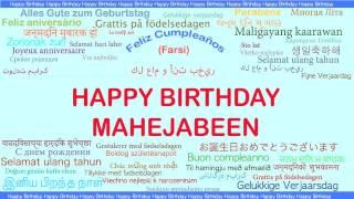 Mahejabeen   Languages Idiomas - Happy Birthday