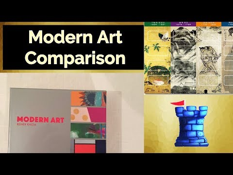 Modern Art Comparison - with Zee Garcia