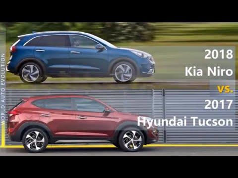 2018 Kia Niro Vs 2017 Hyundai Tucson (technical Comparison)