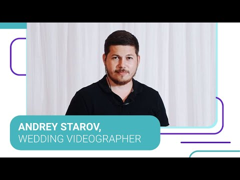 Andrey Starov, Wedding Videographer