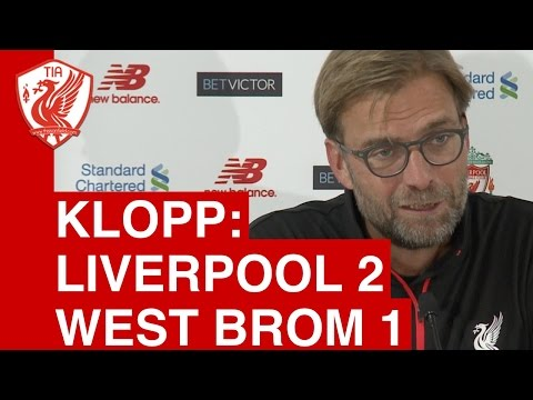 Liverpool 2-1 West Brom - Jurgen Klopp's Post-Match Press Conference