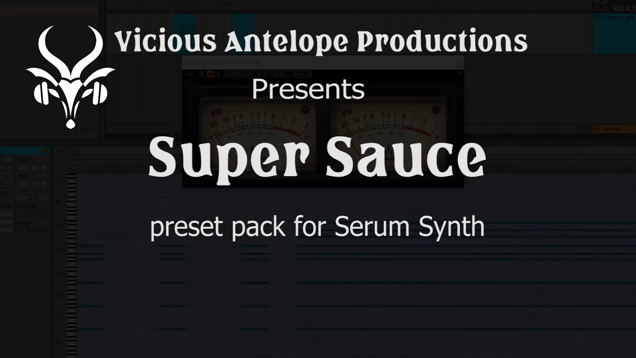 We present Super Sauce - 40 premium presets for Serum - Price:2,00$