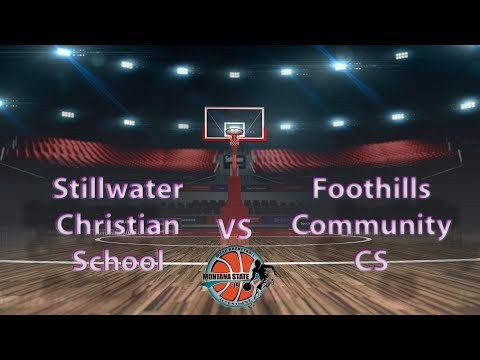 Foothills Community CS vs Stillwater Christian School - MCAA State Tournament 2019 Girls #11
