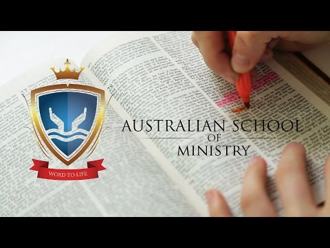 Australian School of Ministry Promotion
