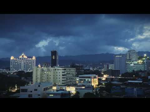 Quick Stormy Weather Time-lapse from 11th-Floor Condo, Cebu City, Philippines