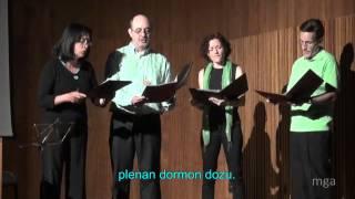 Feo de la Luno - Kvaropo Sinkopo - Esperanto