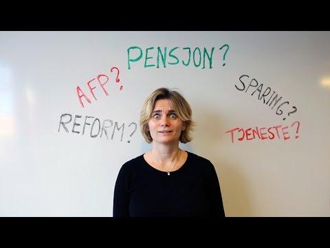 Pensjon – alt du trenger å vite