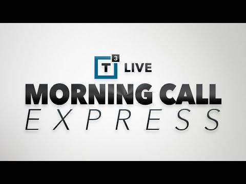 Morning Call Express: Pretty Aggressive Pre-Market Moves