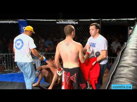 comtv.ca - SPORTS: Hard Knocks #17 fight #1- Adam Lacasse vs Nic Grandbois