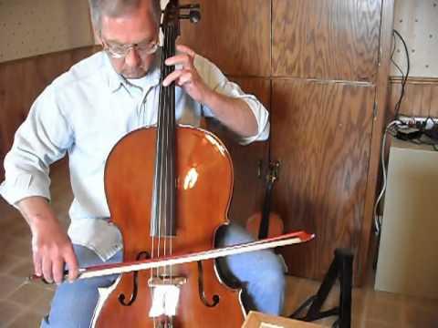 New Cello (9 Months Now) Cecilio 500 From Mendini2.avi