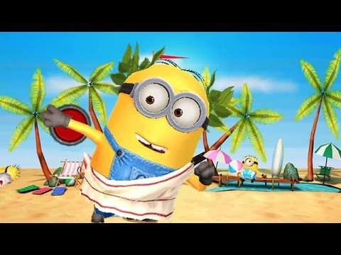 Despicable Me 2: Minion Rush Beach Minion Games Athenian Minion