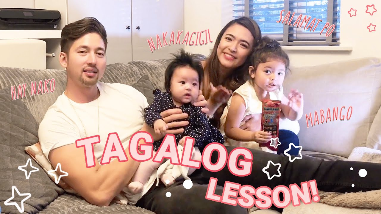 Tagalog Lesson with The Birchmores | Bangs Garcia-Birchmore