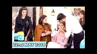 Good Morning Pakistan -  Makeup Artist Wajid Khan - 22nd May 2018 - ARY Digital Show
