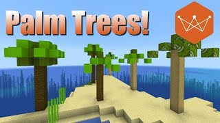 Palm Trees Minecraft Tutorial