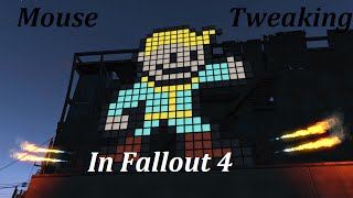 How to fix mouse lag, mouse acceleration, different horizontalvertical sensivity in Fallout 4