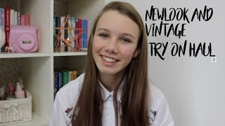 Newlook and vintage haul (Try on)