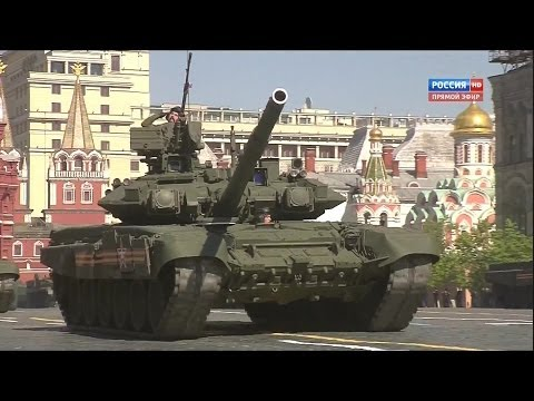 Russia TV  - Russia Victory Day Parade 2014 : Full Army & Air Force Military Assets Segment [1080p]