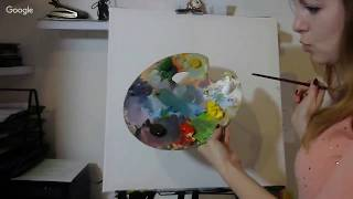 Уроки живописи / Дары леса натюрморт маслом/ Живопись маслом/Ölmalerei