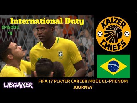 International Call Up vs. Peru FIFA 17 Player Career Mode