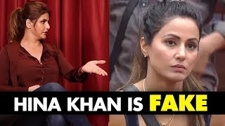 Hina Khan Is FAKE: Zareen Khan BLASTS Bigg Boss 11 Contestant For Her BULGING Comment | SpotboyE