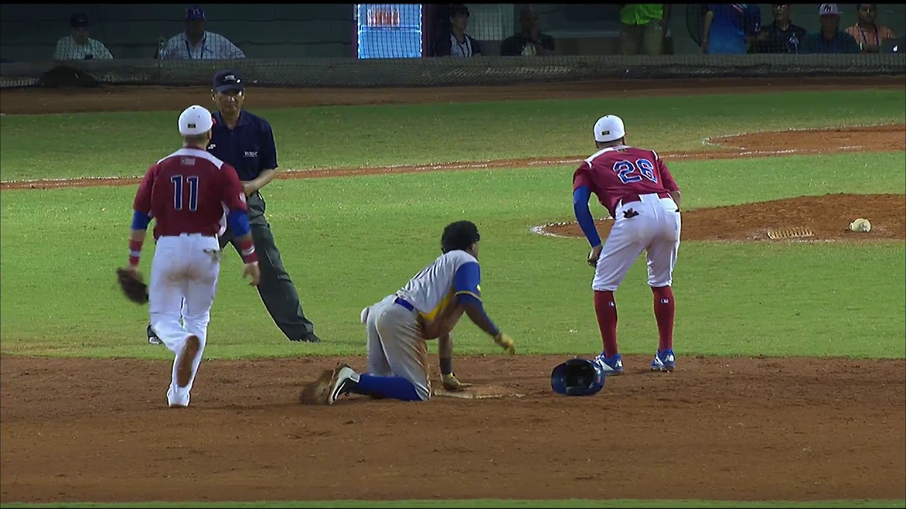 Highlights: Colombia v Puerto Rico - 7th-12th Place Round - U-23 Baseball World Cup 2018