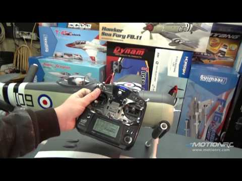 FlightLineRC 1200mm Hawker Sea Fury Build