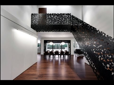 Beautiful Modern Staircase Design Ideas To The Second Floor#2