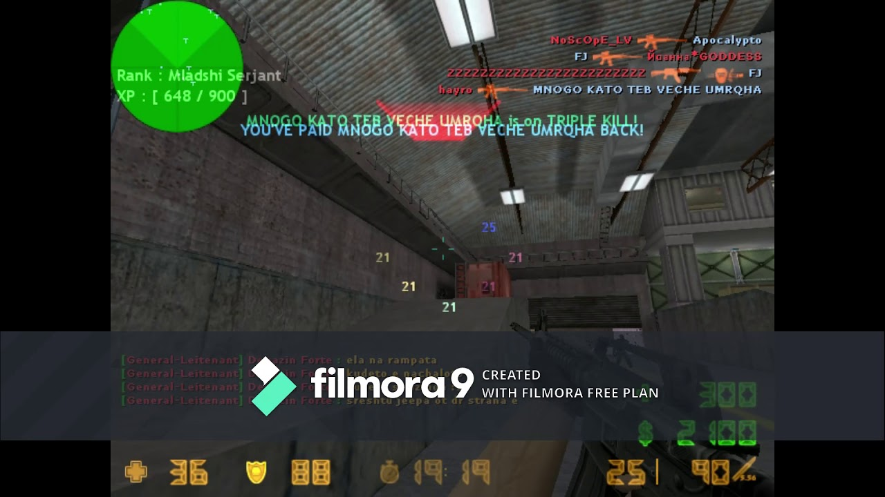 playing counter strike 1.6 HIGHLIGHTS # 42275