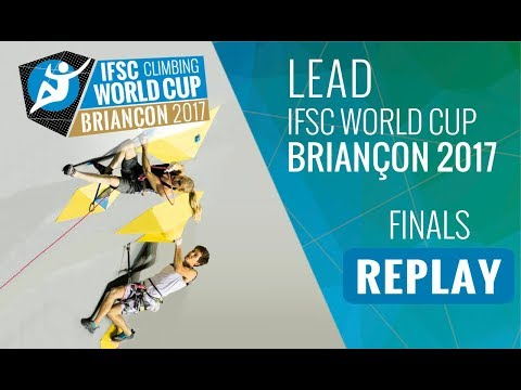 IFSC Climbing World Cup Briancon 2017 - Lead - Finals - Men/