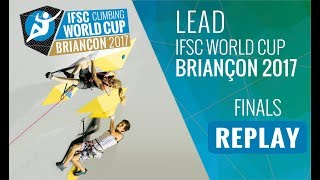 Watch the full replay of the Lead finals at #IFSCwc Briancon, the s...
