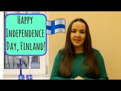 Finnish lesson 10. Happy Independence day! Hyvää itsenäisyyspäivää! - Уроки финского.