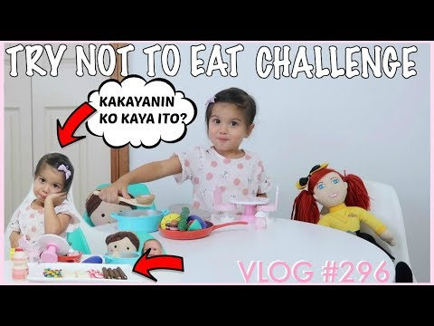 2 1/2 YEARS OLD TRY NOT TO EAT CHALLENGE   WATCH TILL THE END   NAINTINDIHAN BA NYA?