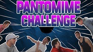 PANTOMIME CHALLENGE! Mit Luca, Max, Izzi, Nico & Sascha | Crewzember