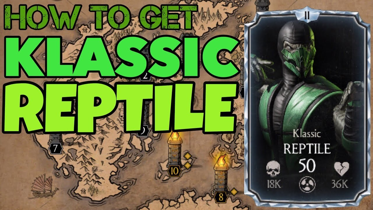 How To Get Klassic Reptile From Quest Mode And Fuse It!Klassic Reptile  Gameplay!