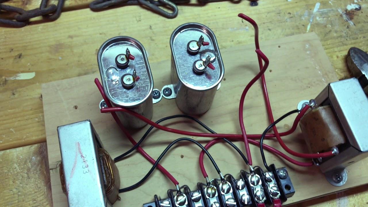 Klipsch Heresy I Speaker Crossover Capacitor Upgrade
