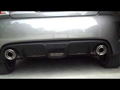 Fiat 500 Abarth Stock Exhaust Sound