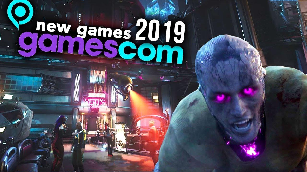 Top 10 New Games Of Gamescom 2019 Youtube